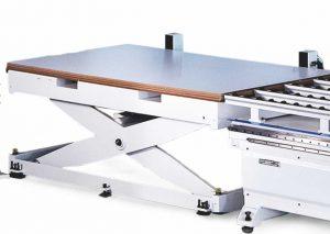 Гидравлический подающий стол