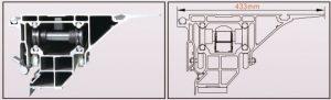 Роликовая каретка форматно-раскроечного станка WDX-132